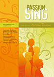 Passion to sing. Click to open sample of score